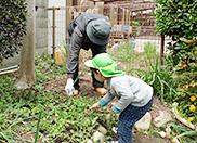 おじいちゃんとお庭
